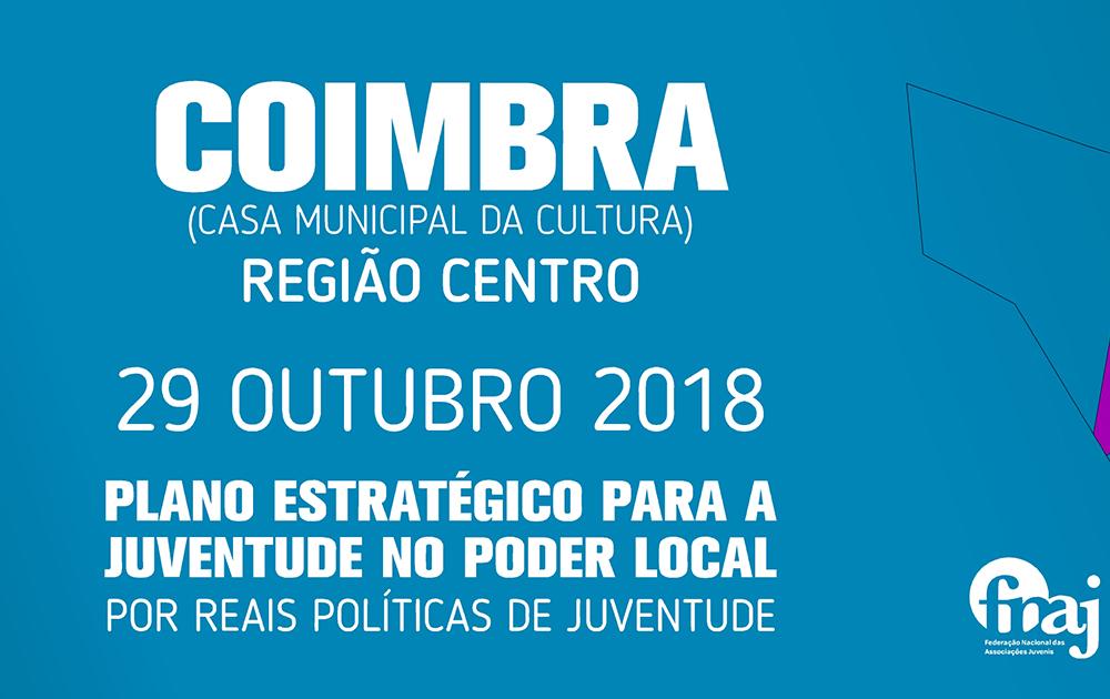 CIMEIRA ASSOCIATIVISMO E JUVENTUDE - REGIÃO CENTRO