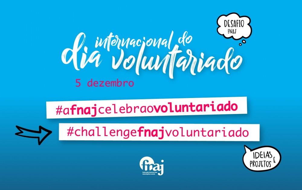 Duas hashtags só para nós, na Semana do Voluntariado da FNAJ
