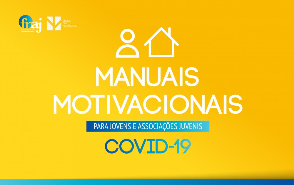 Manuais Motivacionais para Jovens e Associações Juvenis   COVID-19