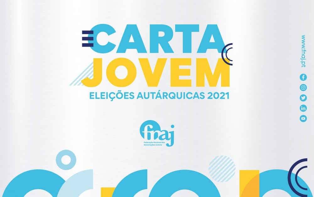 Carta Jovem FNAJ - Eleições Autárquicas 2021